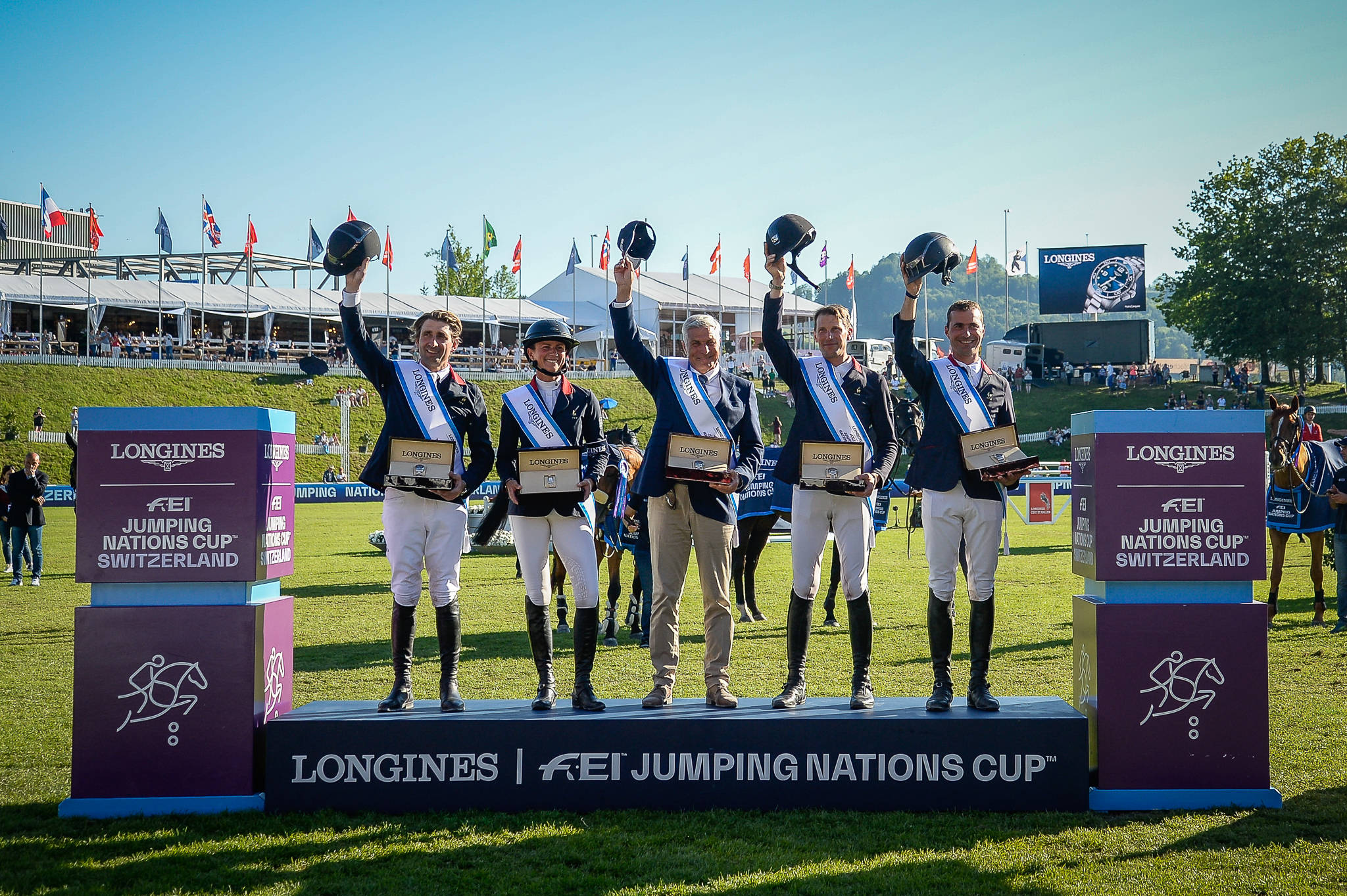 2019, CSIO St. Gallen, FEI Showjumping, Longines, Nations-Cup Switzerland, Springreiten